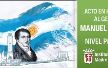 Acto en Homenaje al General Manuel Belgrano