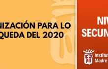 Organización Resto del 2020